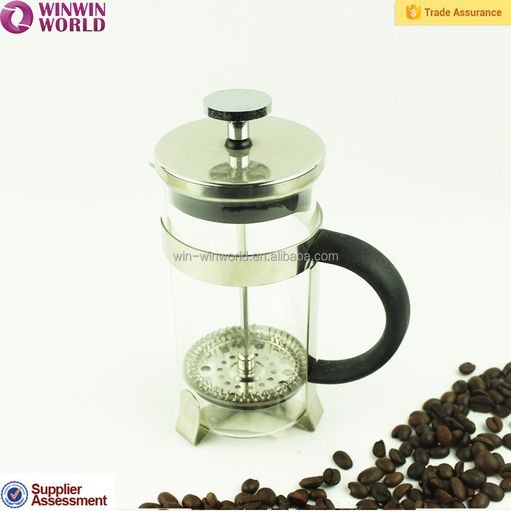 Glass Coffee Pot,USA Hot Sale Coffee Plunger/Coffee Maker with Borosilicate Glass
