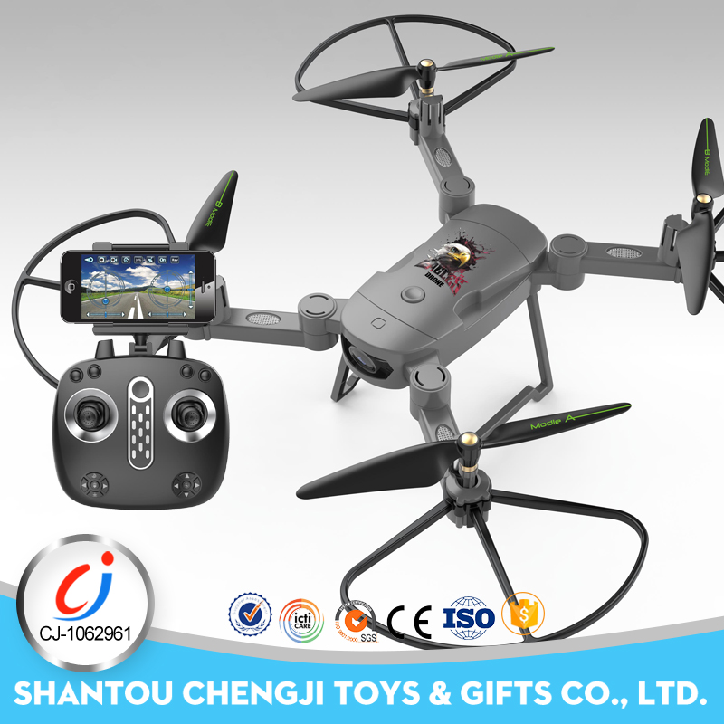 4-axis WIFI remote control helicopter drone with hd camera