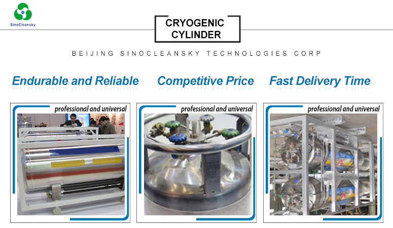 499 L Welded Insulating Cryogenic Cylinder Liquid Nitrogen Dewar ...