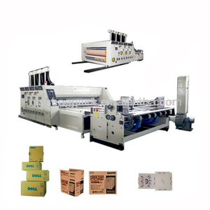 Packaging corrugated cardboard paper carton box manufacturing making machine prices