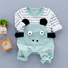 Baby Body 100% Cotton Cute Animal Baby Boy Clothes Jumpsuit Carter Winter Romper