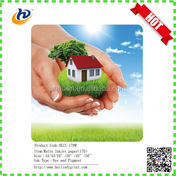 A3/A4 Inkjet Matte Coated Photo Paper 250 gsm