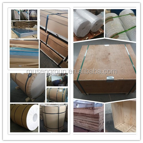 1xxx and 3xxx Aluminum Alloy Coil with PE Film Different Size for Customer