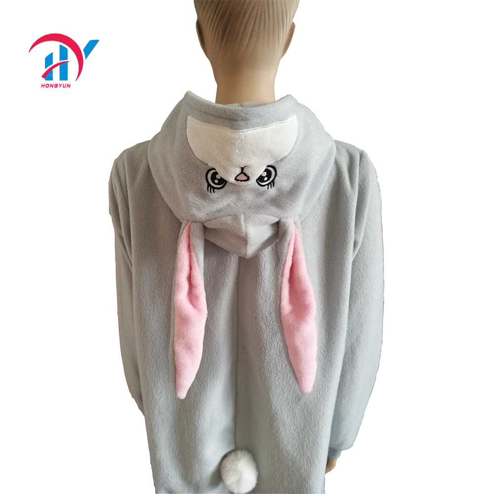 6676b2992a5f Adult Bunny Animal Onesie Costume Pajamas For Adults And Teens ...