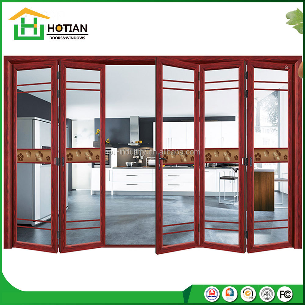 Modern house new design aluminum folding doors and windows price philippines