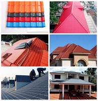 Color roof price philippines Building Materials long span ASA tile roof