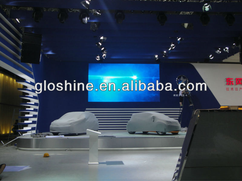 led screen star curtain/exhibition screen/trade show led curtain