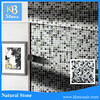 interior wall decorative stone and glass tile mosaic bathroom tiles
