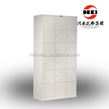 Customized storage 18 door locker for school factory gym for 18 door locker