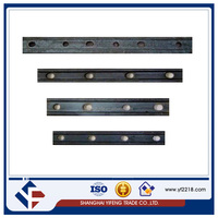 railway fish plate steel fish plate for railway bearing plate