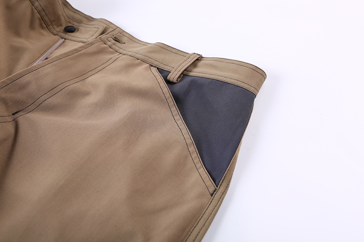 Hot Sale More Pockets Design Plus Size 65%Polyester 35%Viscose Firm Workwear Cargo Pants Trousers For Men Casual
