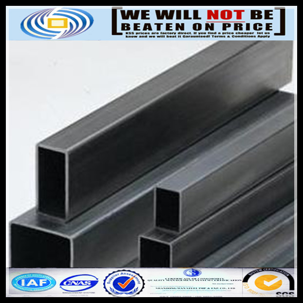 hot dipped galvanized square steel pipe / hot dip galvanised steel tubes in Shandong