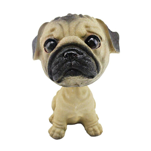 Factory direct polyresin dog animal bobblehead for home