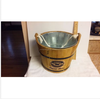 china factory FSC&BSCI bamboo wooden bar beverage liquor beer ice pail bucket barrel