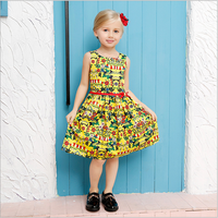 Latest Children Frocks Designs Dresses For Girl 10 years Old Clothes Fash Dress With New Model