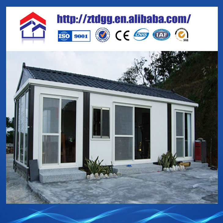 Movable house architecture design from China manufacturer