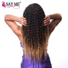 Best quality promotional kinky curly brazilian hair extensions 100% human keratin With Bottom Price