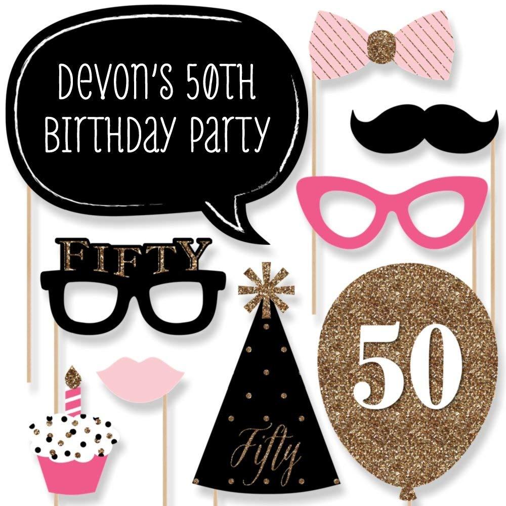 Custom Chic 50th Birthday