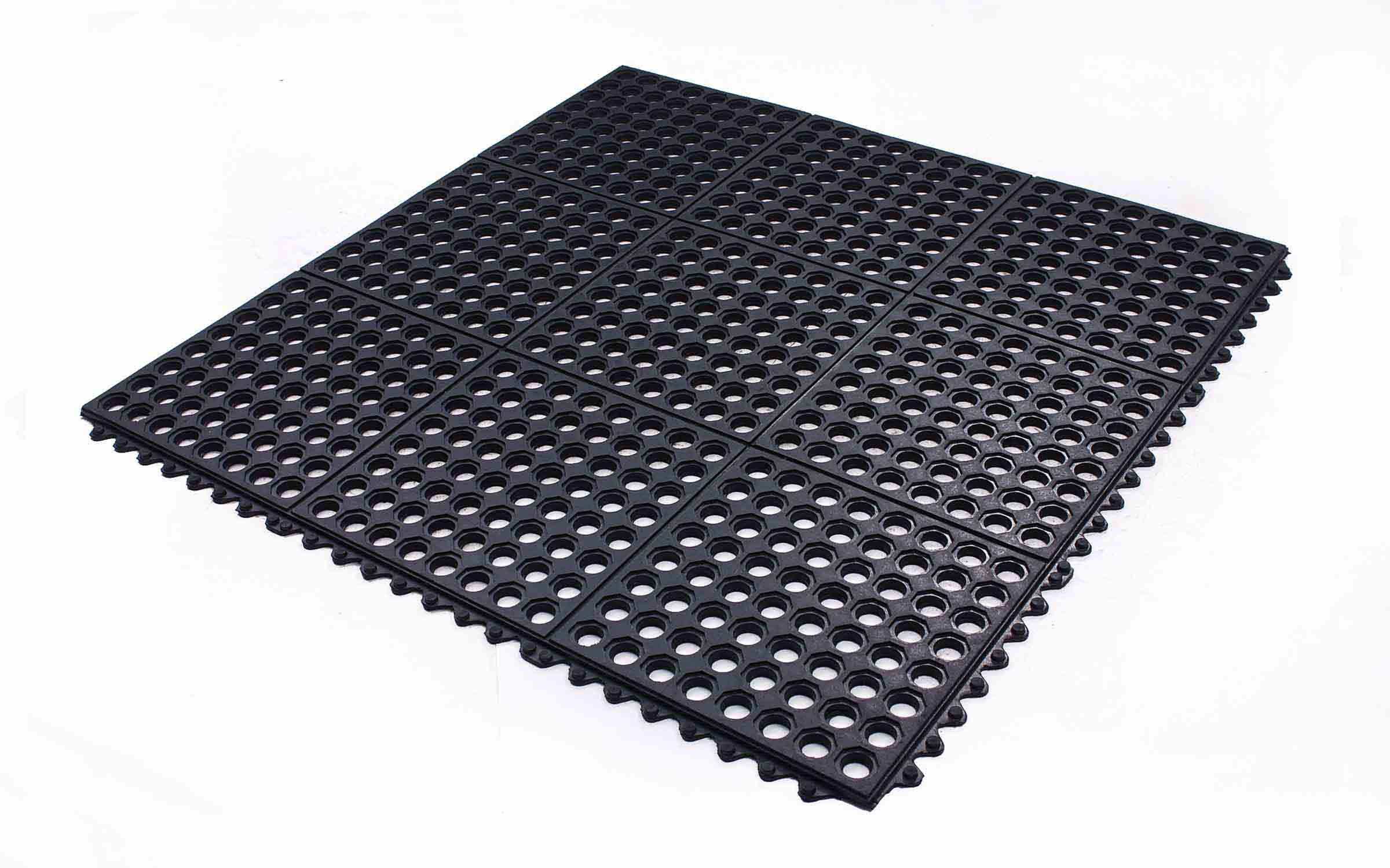 Rubber mat flooring gurus floor for Rubber flooring