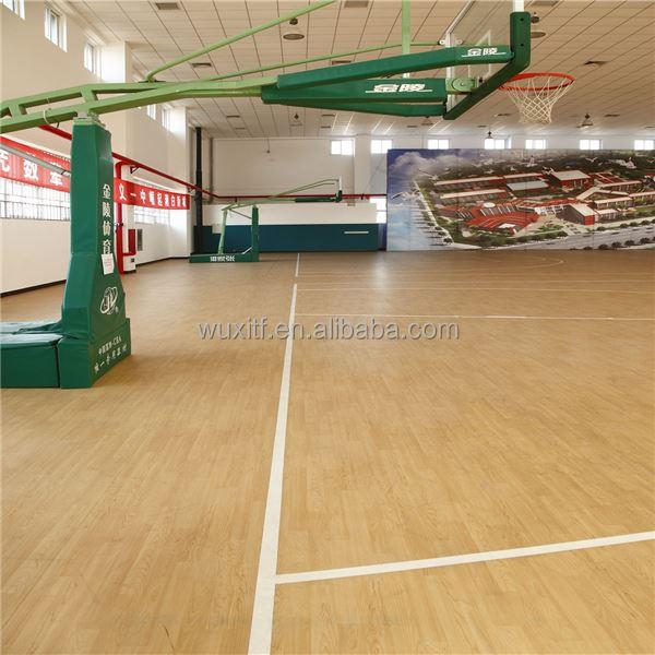 Brandwerende antislip basketbal hof vloeren kosten for Basketball court flooring cost