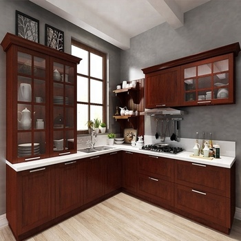 promo code e1a68 38678 American Household Project Traditional Walnut Kitchen Cabinets Solid Wood -  Buy Kitchen Cabinets Solid Wood,Household Kitchen,Wood Kitchen Cabinet ...