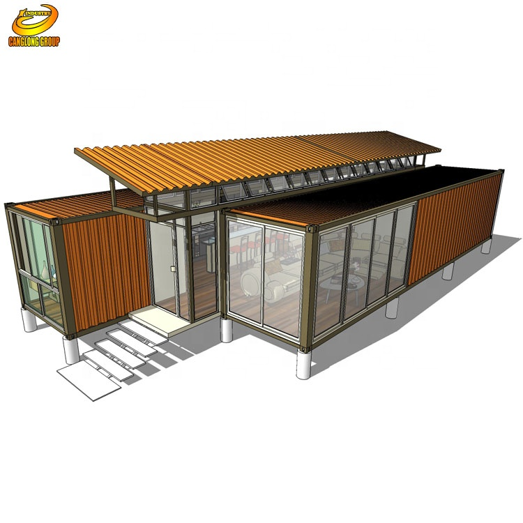 Two Storey Prefab Garage With Loft Apartment Above - Buy Two Storey Prefab  Garage With Loft Apartment Above,Portable Motorcycle Garage,Carports ...