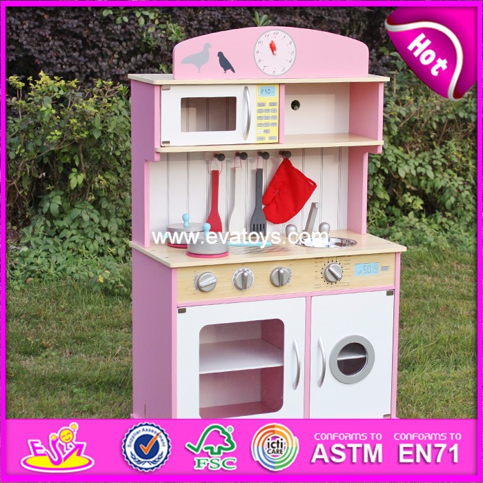 2018 Anak Kayu Dapur Mainan Anak Anak Kayu Kitchen Set Mainan Buy