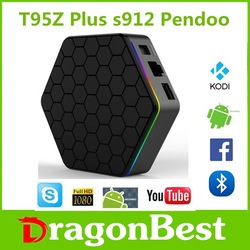 Rockchip 3368 Octa-Core Pendoo Pro RK3328 2G 16G TV Box hd set top box dual wifi 2.4g / 5g Android 7.1 Smart