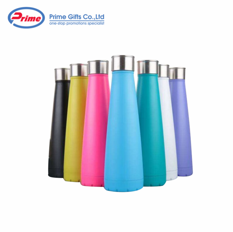 Best Selling Vacuum Insulated Stainless Steel Cola Shape Water Bottle
