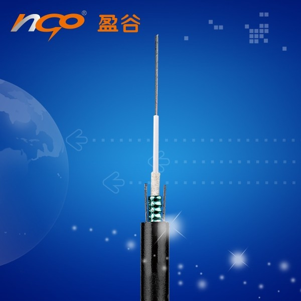 outdoor 6 core 4 core fiber optic cable GYXTW53-4A1B