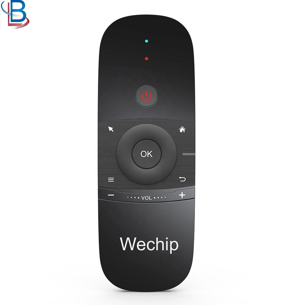 Wechip W1 Toetsenbord Muis Draadloze 2.4G Fly Air Mouse Afstandsbediening Voor Android TV Box/Mini PC/ TV