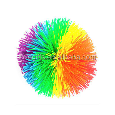 Hot Selling Original Silicone Koosh Balls, Rubber Balls Toy