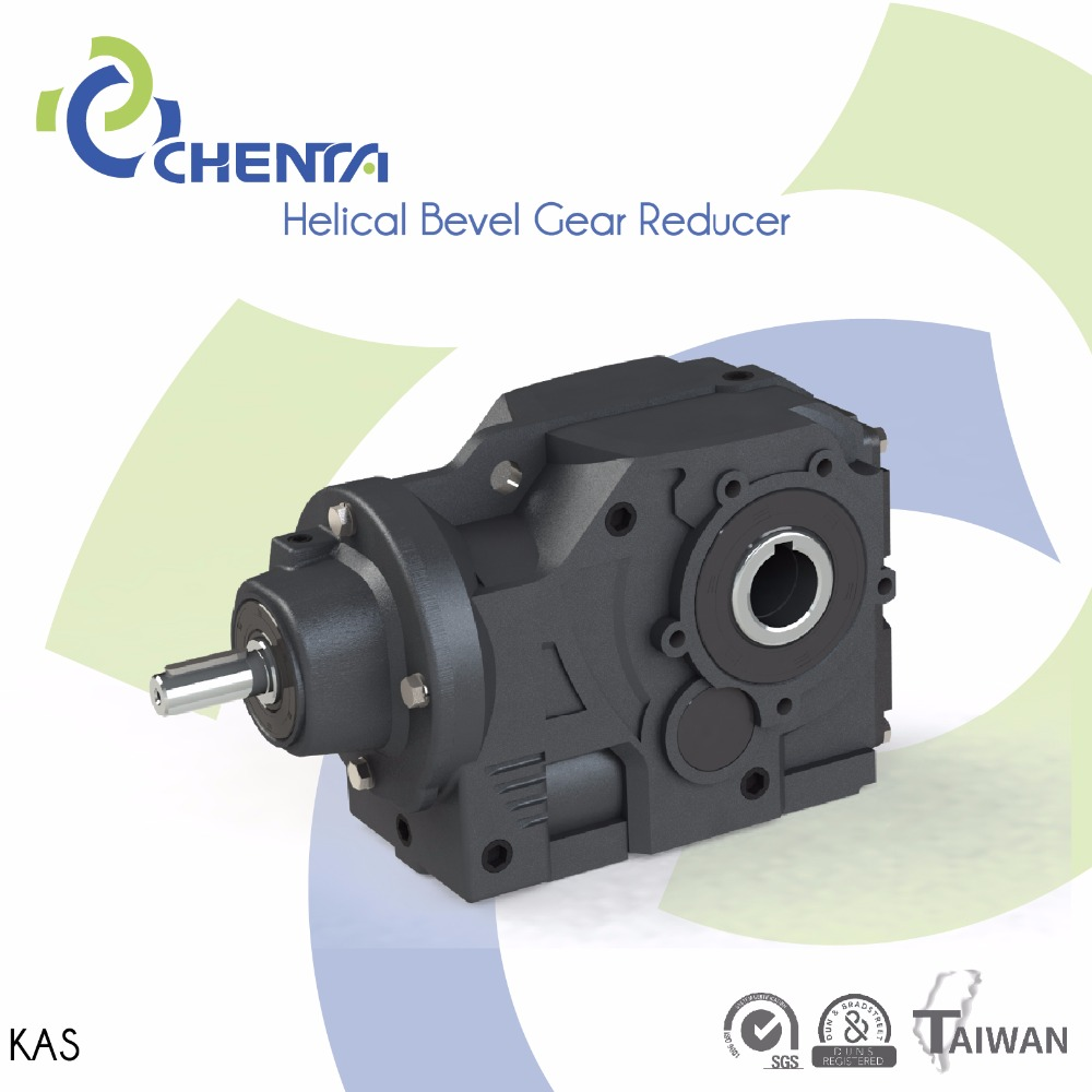 HELICAL BEVEL GEAR REDUCER KAS MODEL right angle spiral bevel gearbox gear angular gears