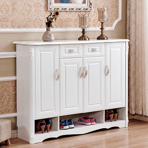 Wooden home furniture shoe cabinet / outdoor shoe rack waterproof