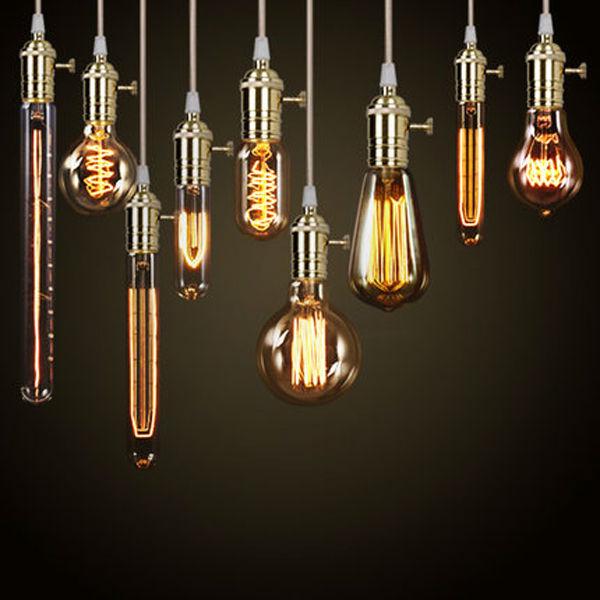 Light Bulbs For Track Lighting: edison track lighting filament light bulb ST64,Lighting