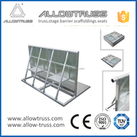 Aluminum barrier Queue management system from China factory