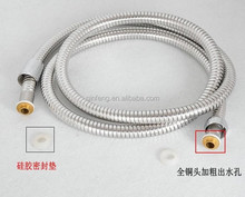 gold shower hose,stainless steel braided hose made in china