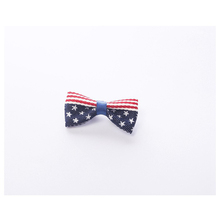 New Cute Kids American Flag Design Children Tie Brooch