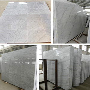 Cheap marble step guangxi white stone kitchen slab size 18/20/30mm for wholesales