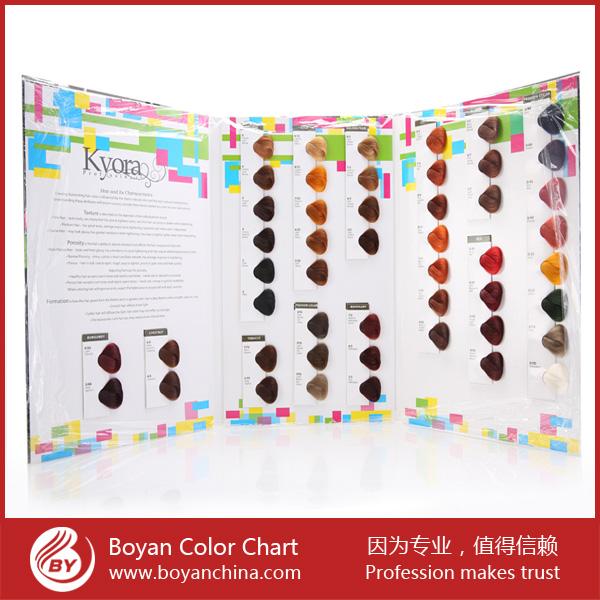 boyan remy cheveux anneau de couleur couleur tableau cheveux swatch livre de teinture pour les cheveux - Tableau Coloration Cheveux