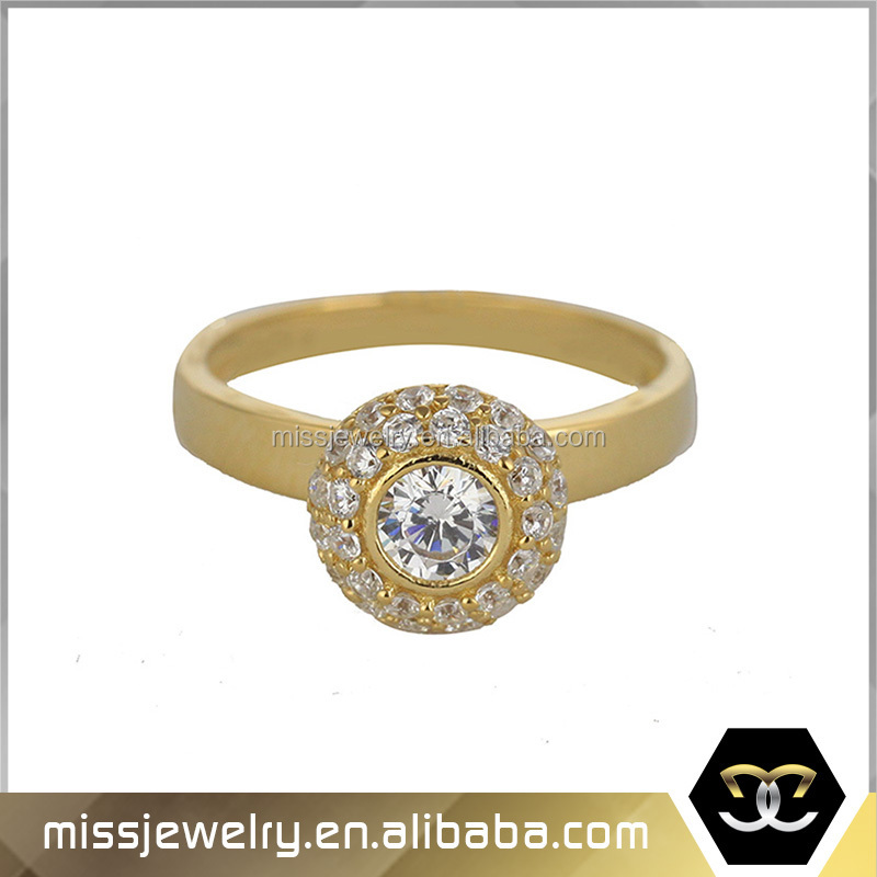 Missjewelry Wholesale Pure Gold Finger Wedding Ring Dubai Gold
