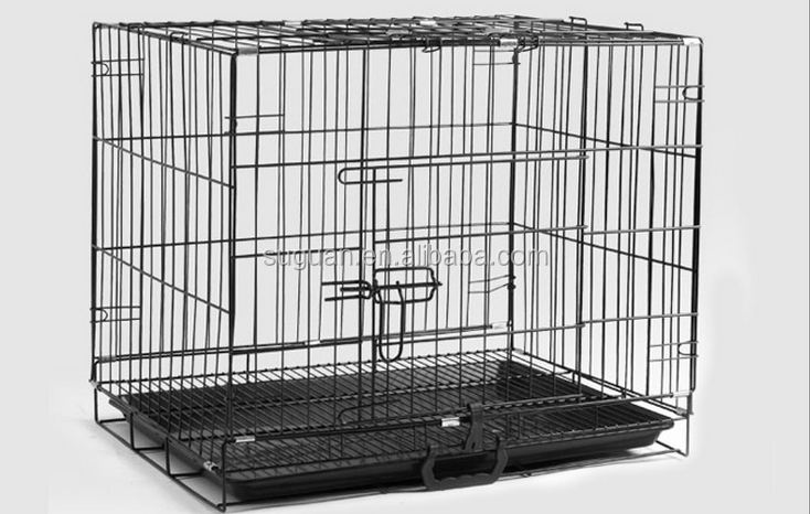 Suguan Metal iron foldable dog cage singapore sale/ dog house/dog kennel made in China