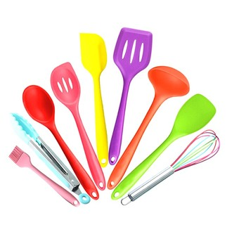 Promotional New Best On Sale Colorful Cooking Tools Utensils Silicone  Kitchen Mixing Tools - Buy Kitchen Mixing Tools,Kids Kitchen Tools,Silicone  ...