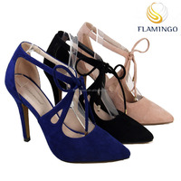 FLAMINGO LATEST ODM OEM Comfortable 2017 design ladies evening shoes for women