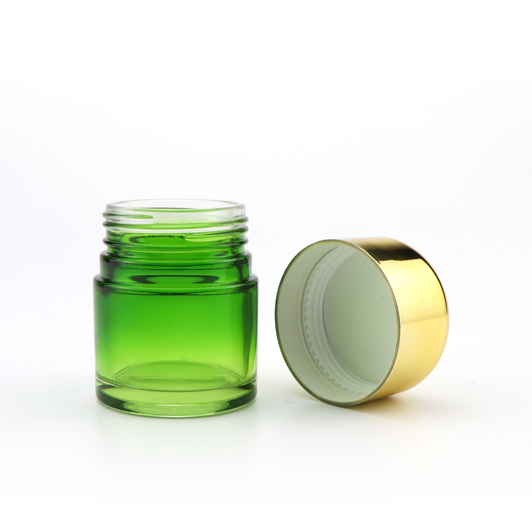 BPA Free 5ml colored mini screw top straight walled wax oil childproof concentrate glass container with airtight lid
