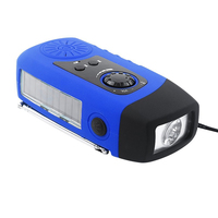 hand crank dynamo power bank solar fm radio for African no electricity areas