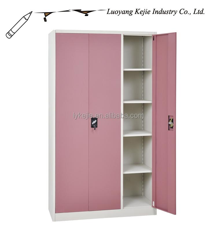 Cheap Godrej Almirah Design 3 Door Steel Cupboard Price