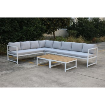 Outdoor Garden Patio All Weather Adjustable Wicker Rattan Pattern Big Large  Square Modular Sectional Sofa - Buy Outdoor Sectional Sofa,Lounge ...
