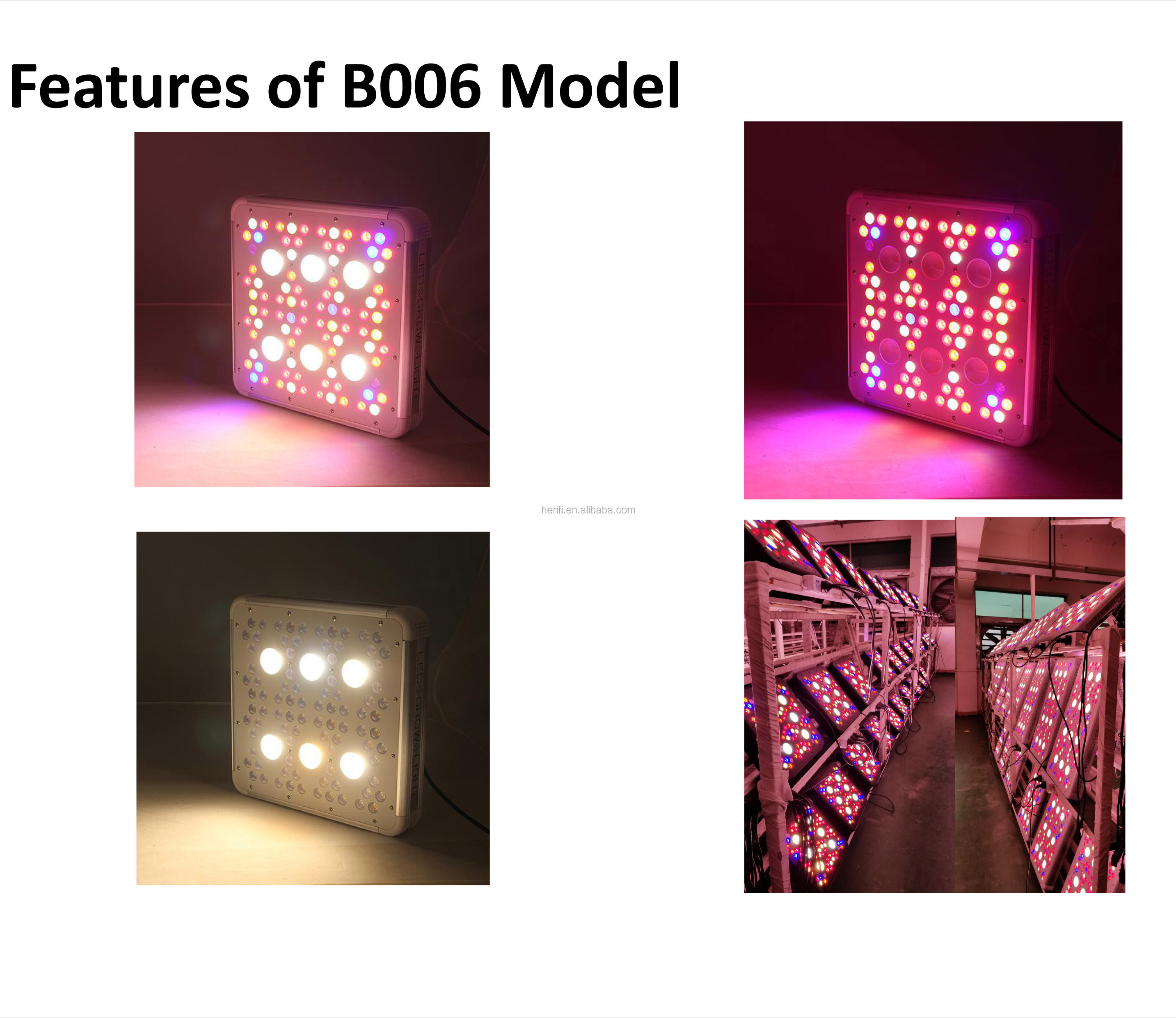 Real power 300w 600w 900w 1200w  Led Grow Light /horticultural led grow Light
