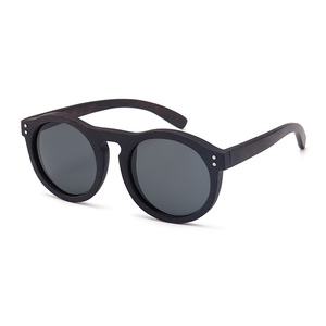 New style fashion natural uv400 polarized wooden sunglasses
